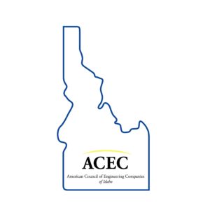 ACEC of Idaho logo - American Council of Engineering Companies Idaho Chapter.